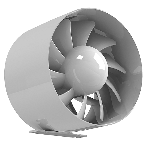rohrventilator rohreinschub l fter abluft ventilator leise 100 120 150 arc. Black Bedroom Furniture Sets. Home Design Ideas