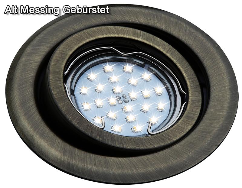 einbaustrahler gu4 mr11 schwenkbar downlight einbauleuchte spot led halogen oh19 ebay. Black Bedroom Furniture Sets. Home Design Ideas
