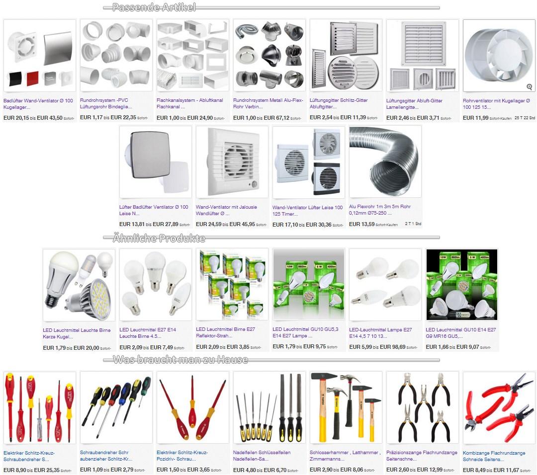rohreinschubventilator turbo rohrl fter badl fter mit kugellager 100 mm l cknitz. Black Bedroom Furniture Sets. Home Design Ideas
