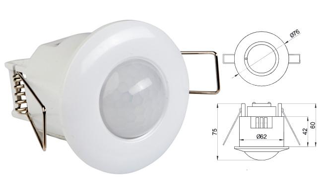 bewegungsmelder aufputz unterputz infrarot oder mikrowellen von 140 bis 360 grad ebay. Black Bedroom Furniture Sets. Home Design Ideas